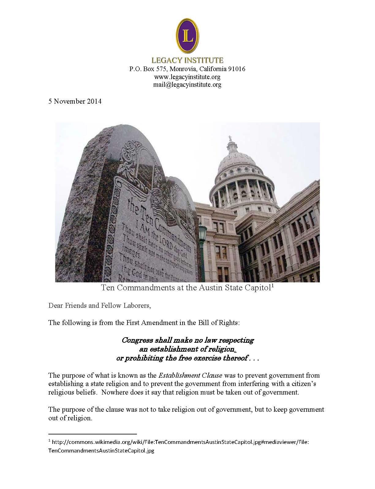 Legacy Letter November 2014_Page_1